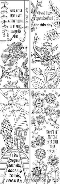 bookmark doodles