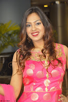 Sindhu Shivarama in Pink Ethnic Anarkali Dress 03.JPG