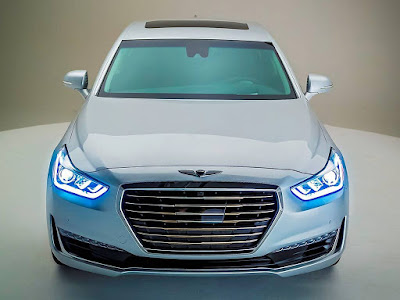 New 2017 Genesis G90 HD Images