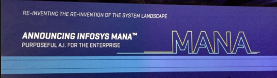 Infosys Launches 'Mana' – a Knowledge-based Artificial