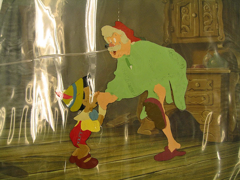 Pinocchio cel preservation animatedfilmreviews.filminspector.com