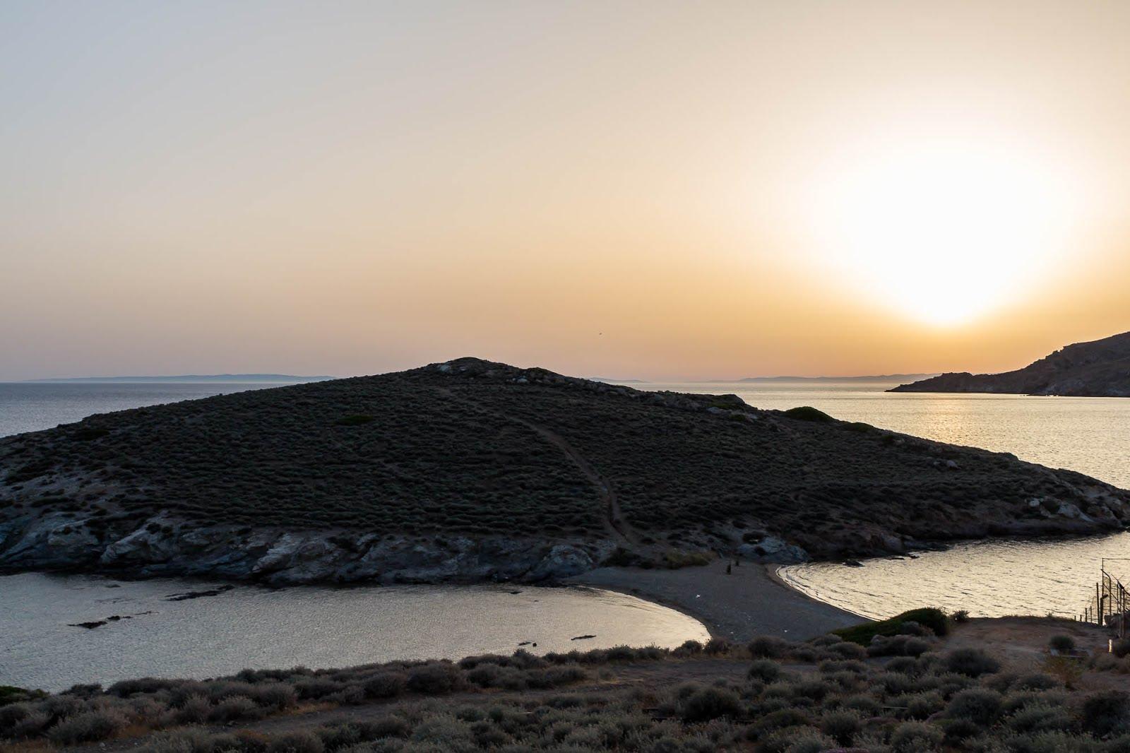 coucher de soleil cyclades