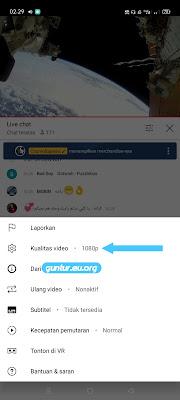 terhubung ke server test buka youtube