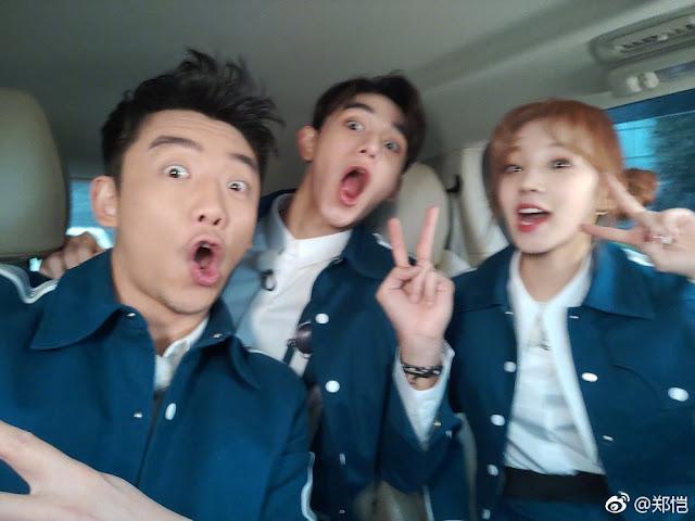 Keep Running cast new members Lucas Wong Song Yuqi