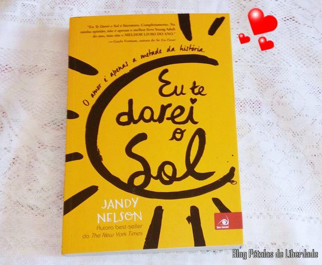"Livro ""Eu te darei o sol"", Jandy Nelson, capa, sinopse, amazon"