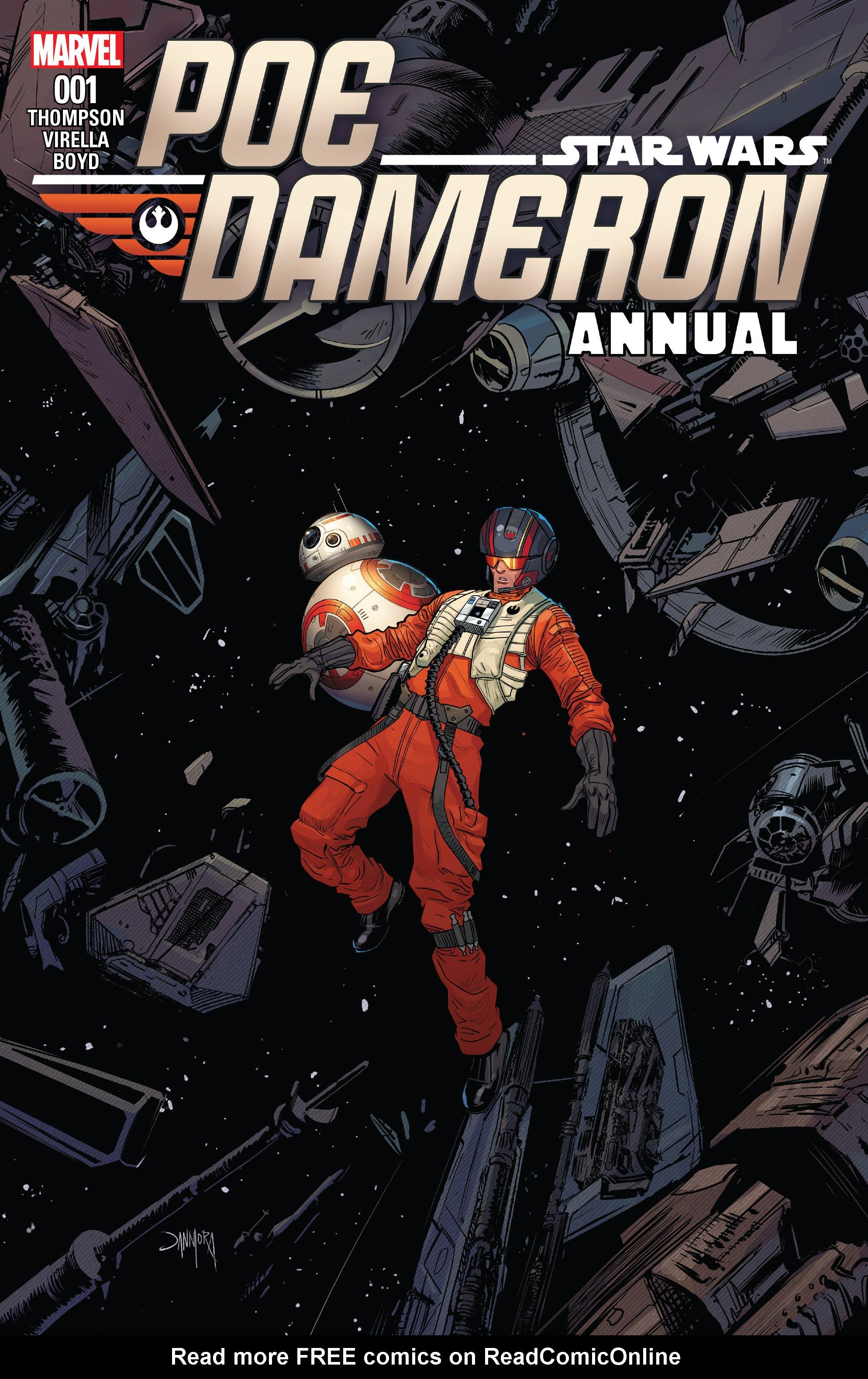 Read online Star Wars: Poe Dameron comic -  Issue # _Annual 1 - 1