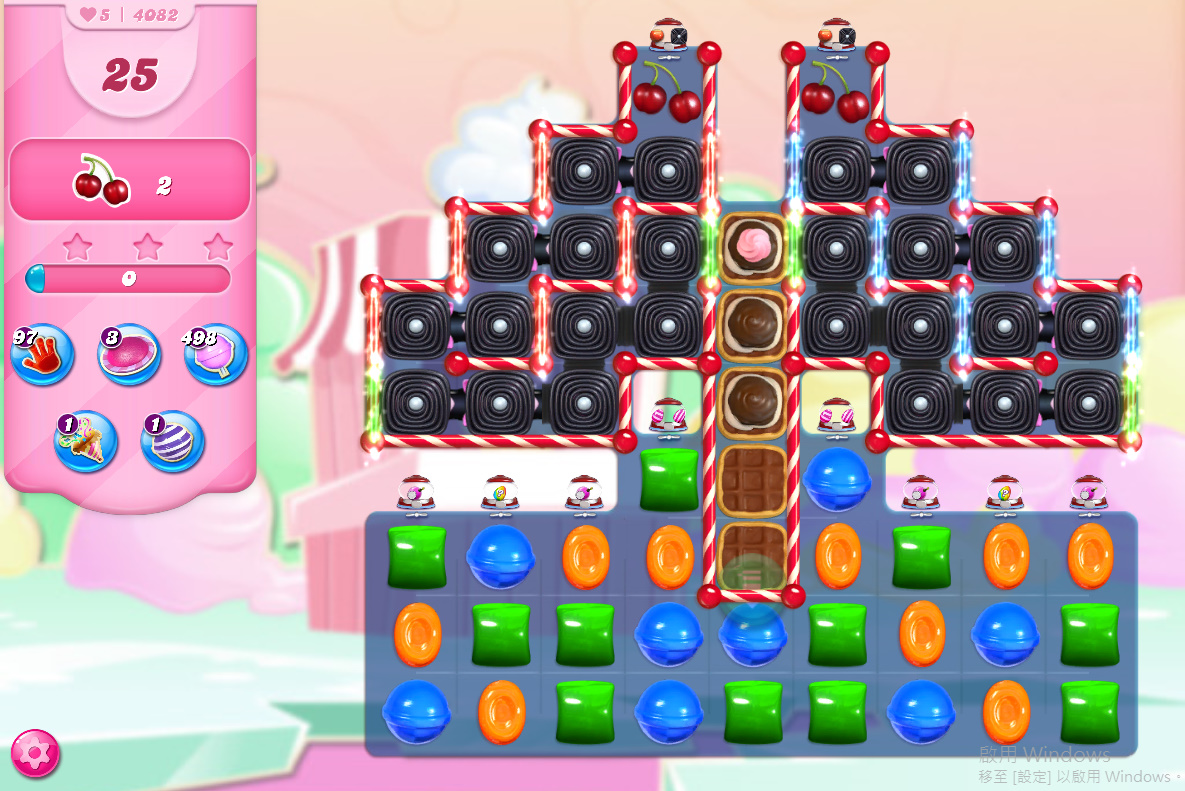 Candy Crush Saga level 4082
