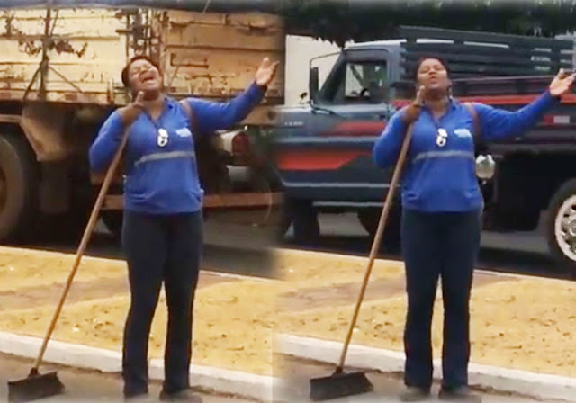 Gari canta Whitney Houston