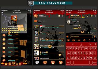 Dowbload BBM Mod Happy Halloween's Day all. V2.10.0.31 Apk