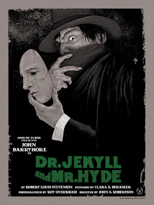 Dr. Jekyll & Mr. Hyde Standard Edition Screen Print by Timothy Pittides x Mad Duck Posters