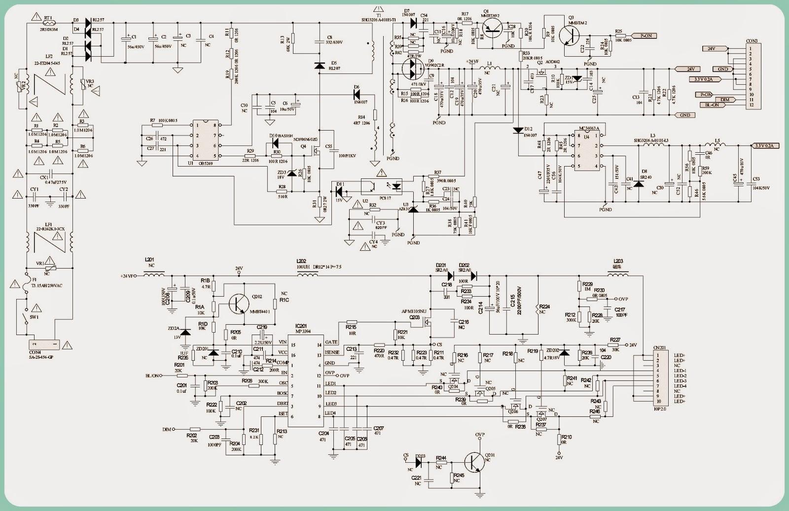 lg flatron w1942s lcd monitor aocl32w831 philco28t35dg lg appliance schematics lg tv troubleshooting [ 1600 x 1037 Pixel ]