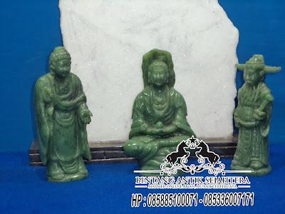 Patung Batu Giok Asli