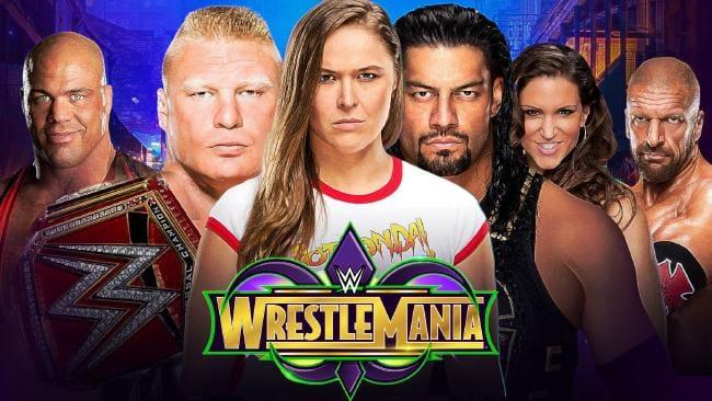 مشاهدة عرض راسلمينيا 34 كامل مترجم اون لاين يوتيوب 2018 نتائج مهرجان WWE WrestleMania 34 المصارعة الحرة الان
