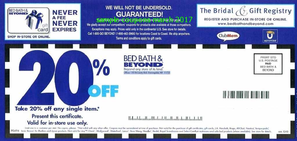 how to add bed bath and beyond coupon online