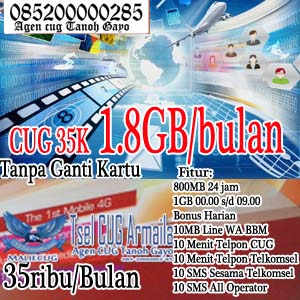Program CUG Telkomsel 35K