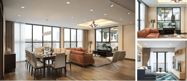 Nội thất căn hộ chung cư ICID Complex Lê Trọng Tấn