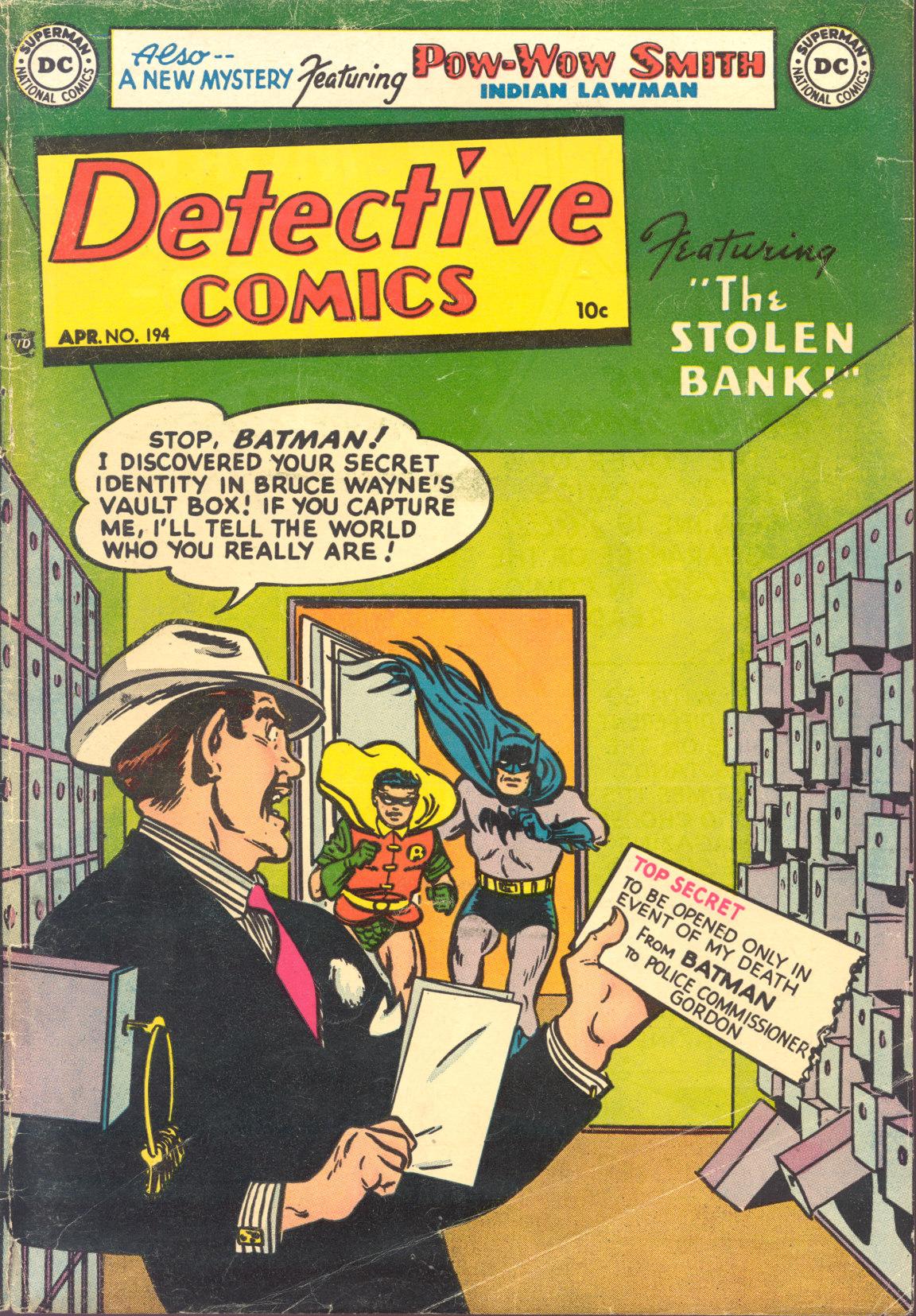 Detective Comics (1937) 194 Page 1