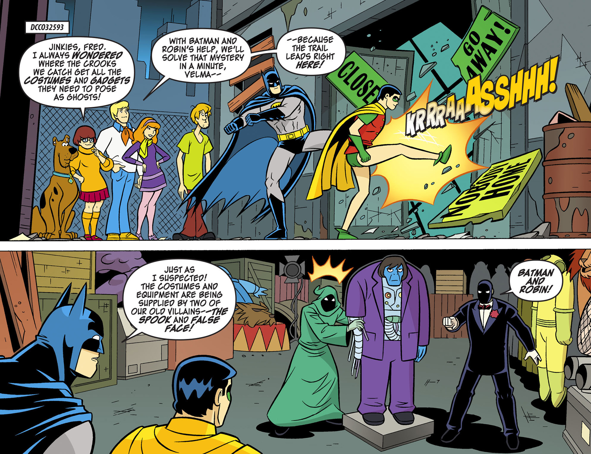 Read online Scooby-Doo! Team-Up comic -  Issue #5 - 3