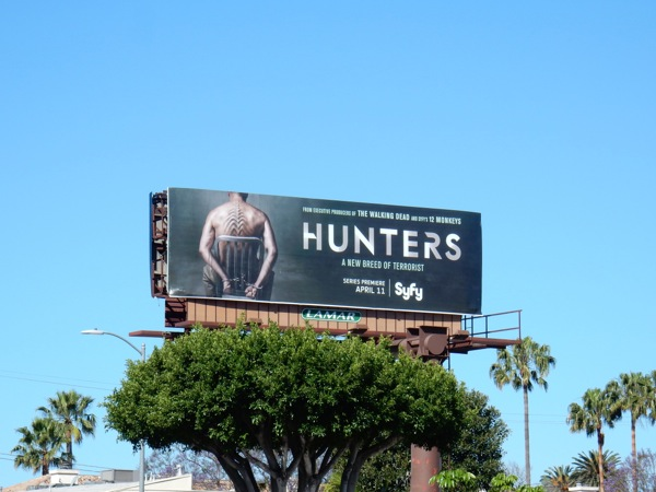 Hunters season 1 billboard