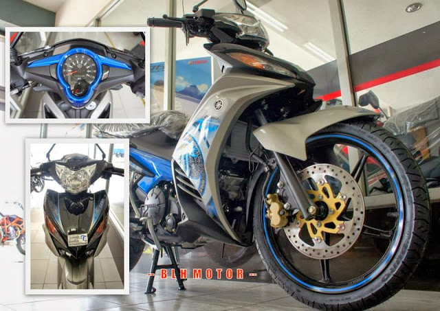 Yamaha 135LC Extreme Spirit Dan SuperSport 2014