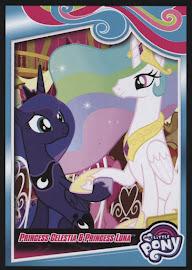 My Little Pony Princess Celestia & Princess Luna Series 4 Trading Card