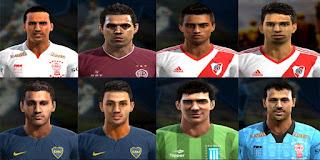Facepack Liga Argentina v1 2016 Pes 2013 By Ler