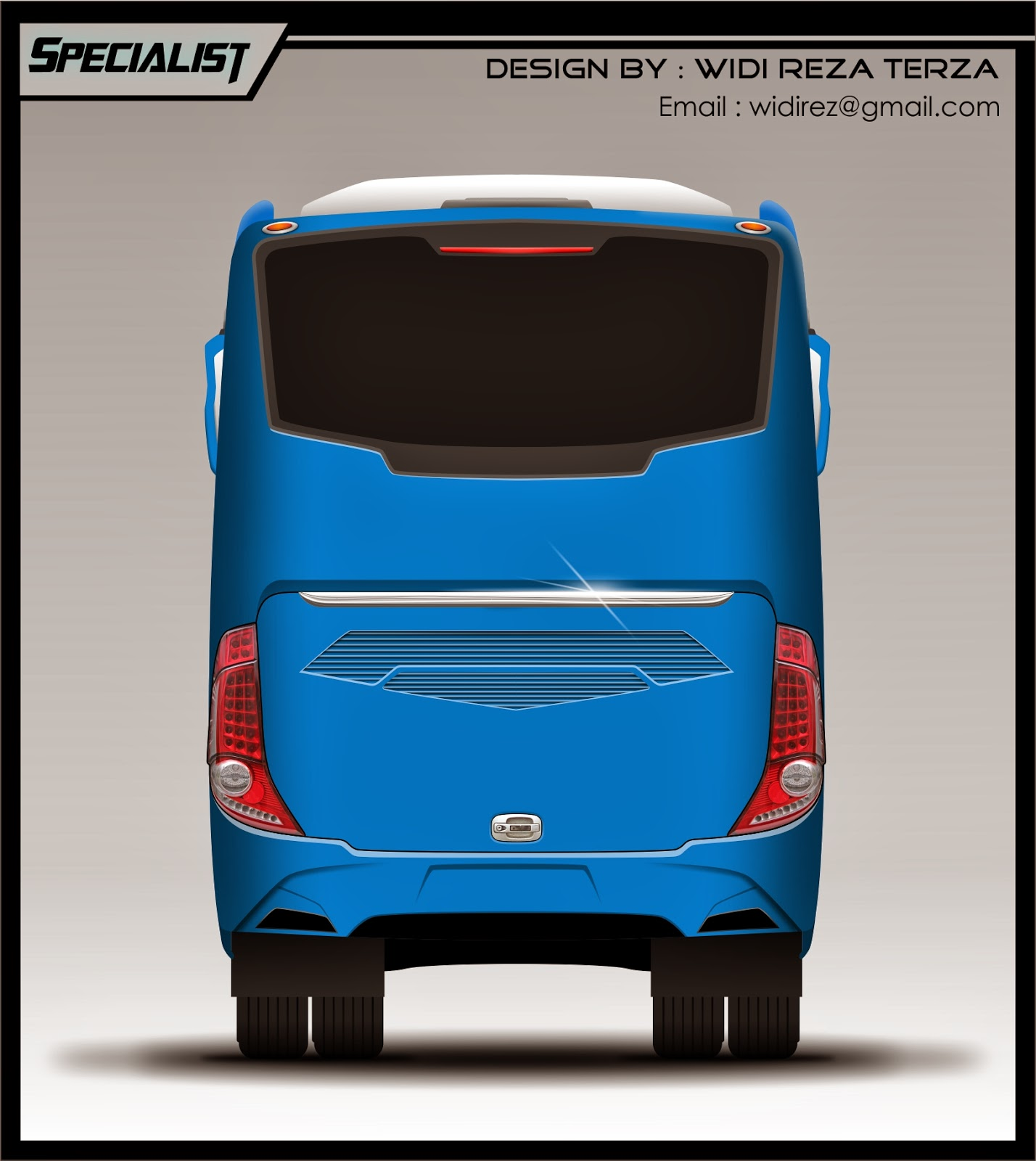 Design Bus 2D Specialist rear