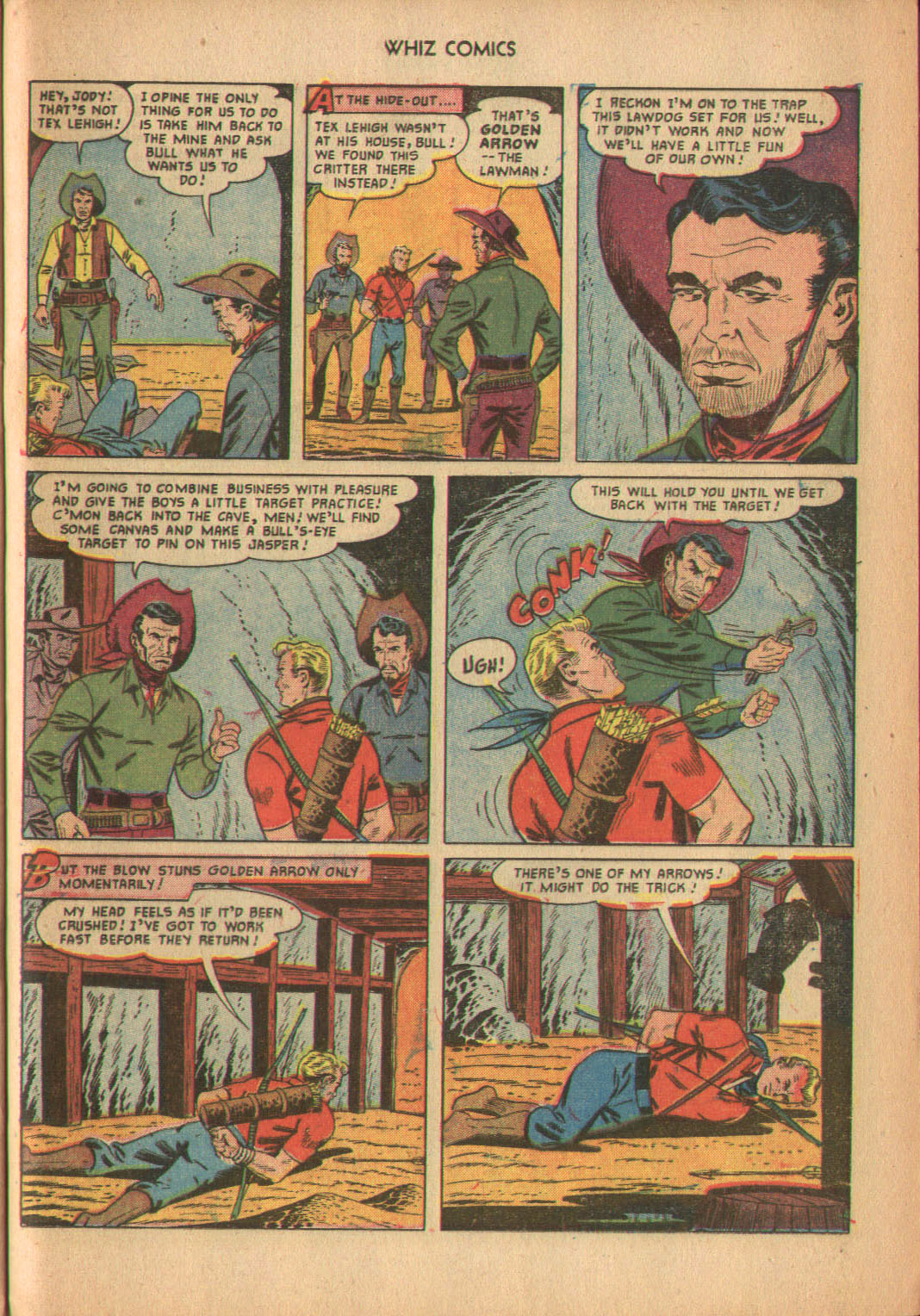 WHIZ Comics issue 137 - Page 25