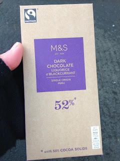 marks and spencer liquorice and blackcurrant dark chocolate