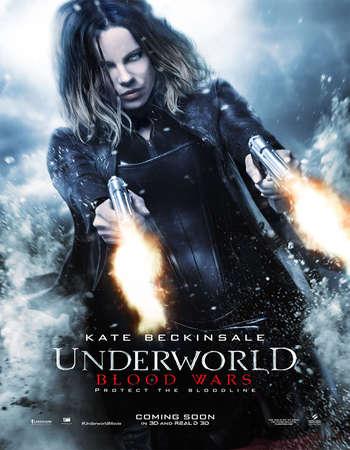 Poster Of Underworld: Blood Wars 2016 Hindi Dual Audio 300MB HDCAM 480p Free Download Watch Online downloadhub.net
