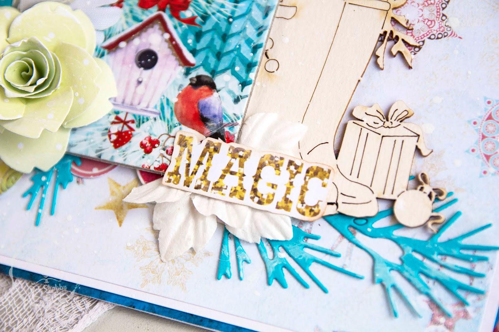 Новым годом, открытка хеллоу