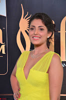 Madhu Shalini Looks Super Cute in Neon Green Deep Neck Dress at IIFA Utsavam Awards 2017  Day 2  Exclusive (15).JPG