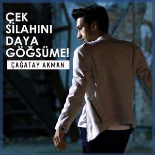 Çağatay Akman'ın yeni şarkısı Çek Silahını Daya Göğsüme sitemizde yayınlanmıştır.Çağatay Akman'ın 2018 şarkısı Çek Silahını Daya Göğsüme sözlerini sitemizde okuyabilirsiniz.