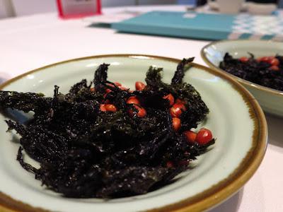 Putien, fried seaweed
