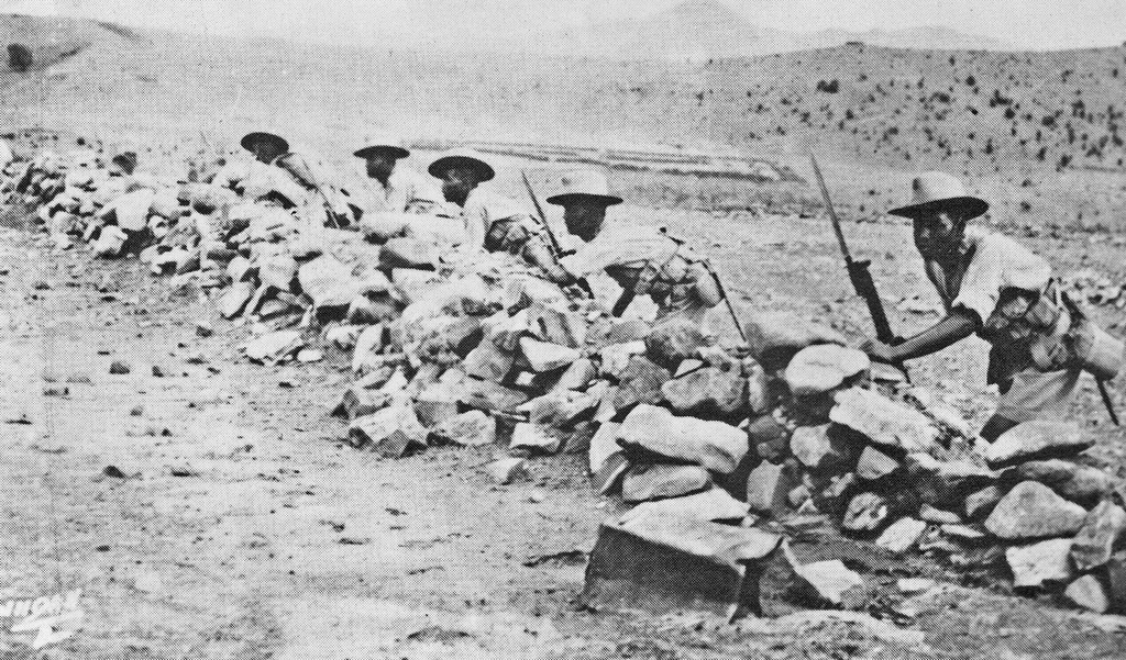2nd Battalion 'At the ready' Waziristan 1937