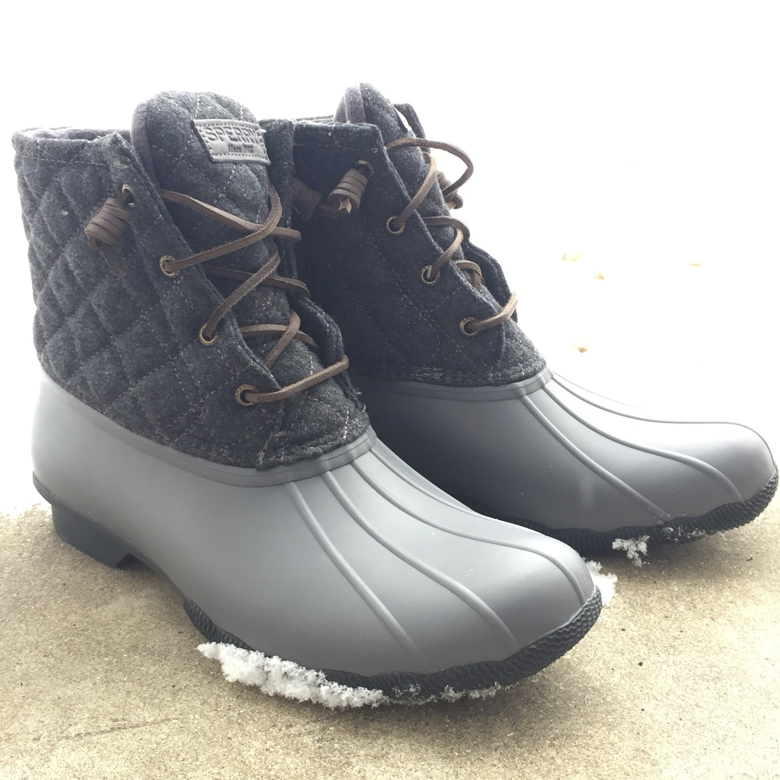 e597fe7b1f44 They were on sale for under  100 after Christmas so I was thrilled. Do you  have any duck boots  Kate Spade Kitchen