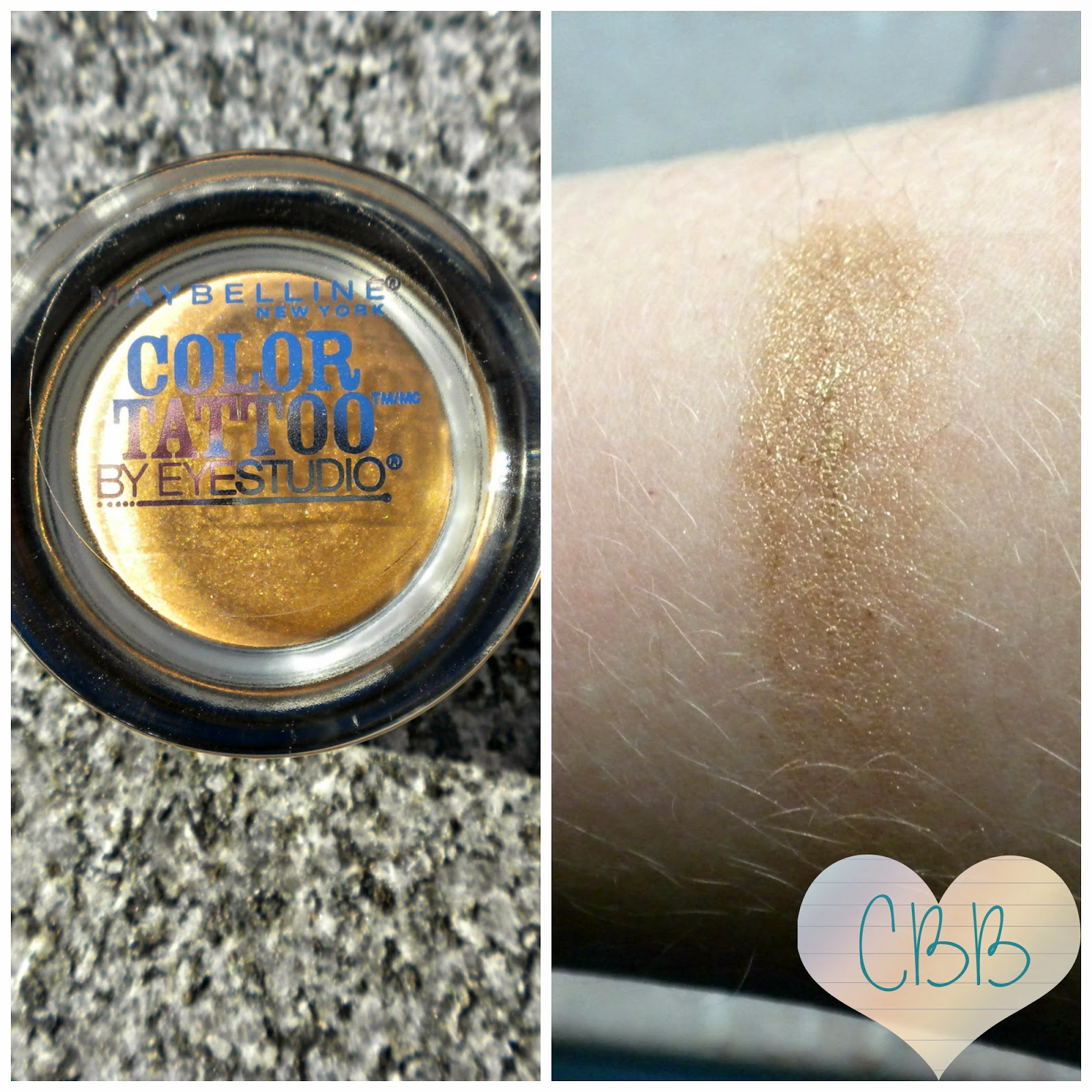 MAYBELLINE Color Tattoo in Bold Gold ($7)