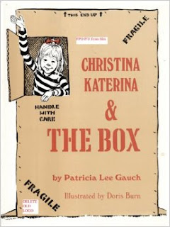 Continuing to teach the class about the letter X, Glimmercat found a book to incorporate into her literacy lessons: Christina Katerina & The Box