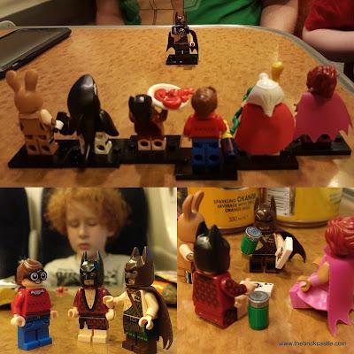 Lego batman playing cards