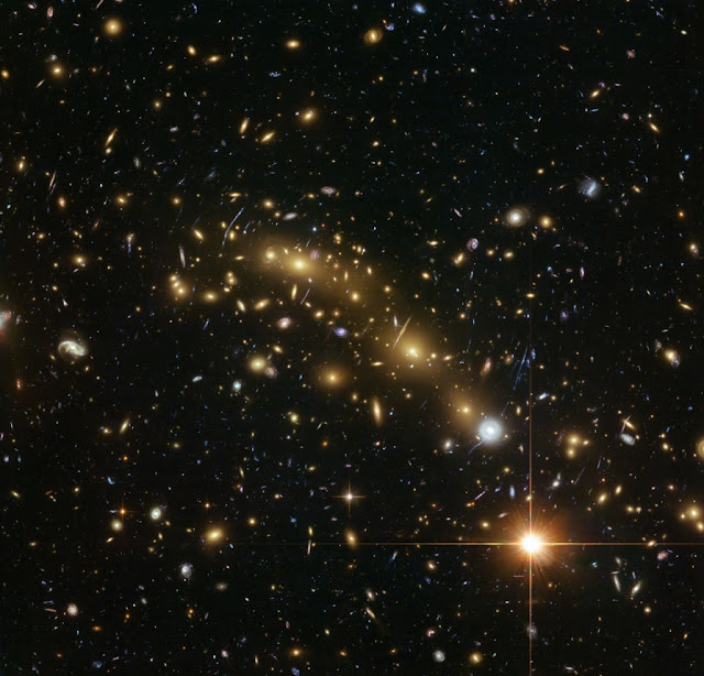 Galaxy alignments traced back ten billion years