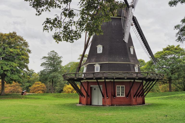Moulin au kastellet, la citadelle de Copenhague