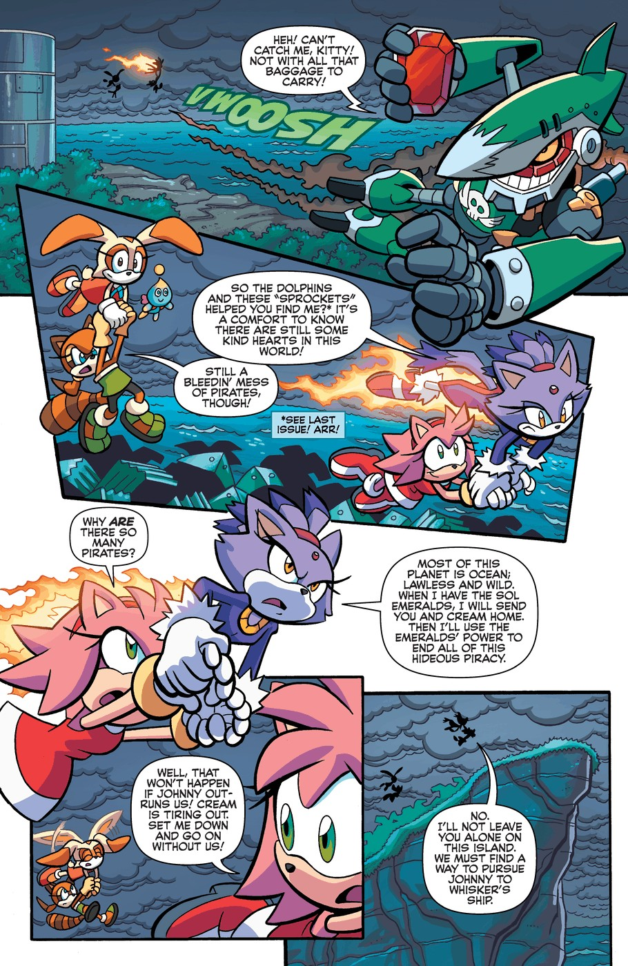 Read online Sonic Universe comic -  Issue #57 - 9