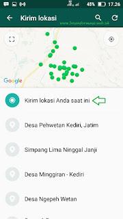 cara melacak lokasi seseorang dengan whatsapp