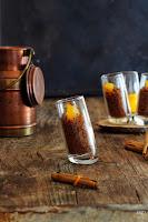Cous-cous de chocolate con naranja