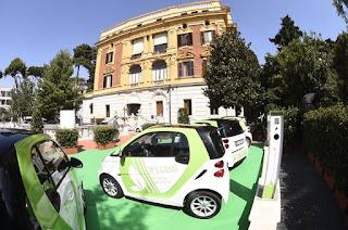 Car sharing elettrica Luiss