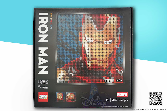 LEGO Art Series 31199 Marvel Studios Iron Man