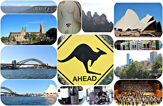 A tour of Sydney, Australia with food and wine on Wine Dine And Play