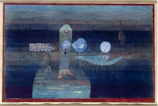Paul Klee painting - Good Place For Fish
