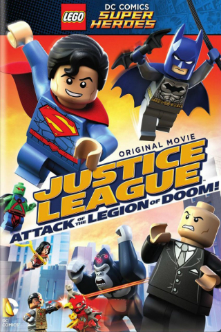 LEGO DC Super Heroes: Justice League: Attack of the Legion of Doom! [2015] [DVDR] [NTSC] [Latino]