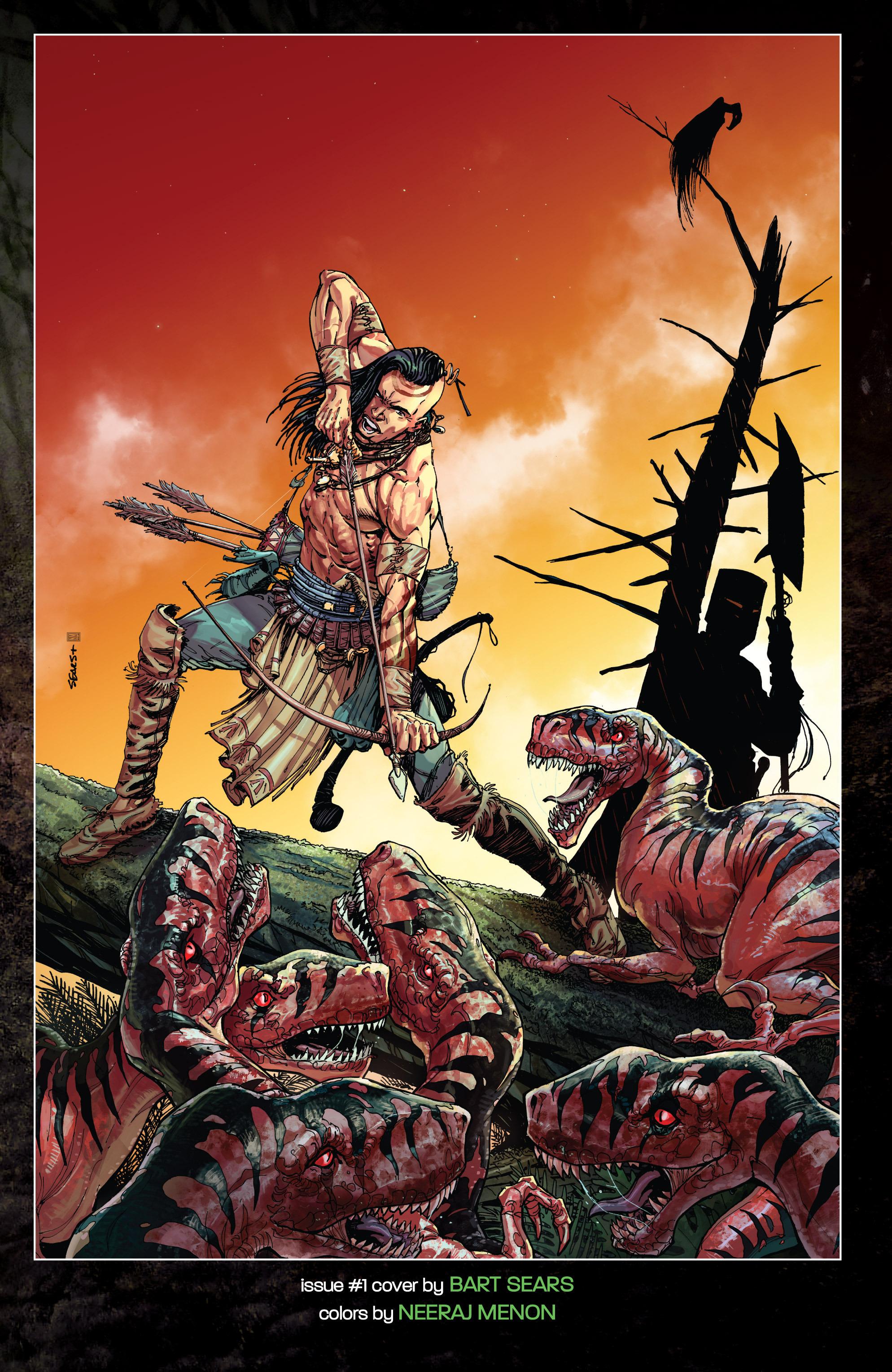 Read online Turok: Dinosaur Hunter (2014) comic -  Issue # _TPB 1 - 116